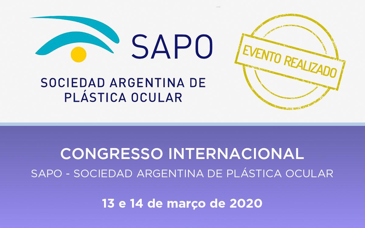 SAPO – Congresso Internacional 2020